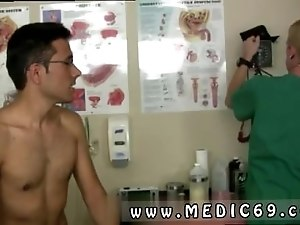 Black gay men in the doctors office and erotic physical exams After