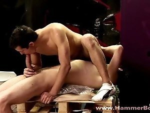Suck my fat dick from Hammerboys TV