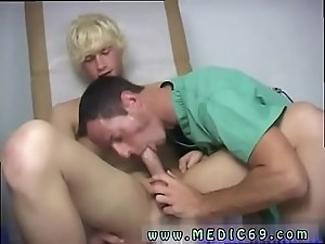Gay twink on his knees for dad movie Taking over my cock, Dr James